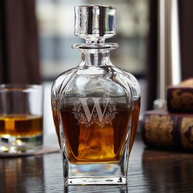 Highbury Engraved Whiskey Decanter