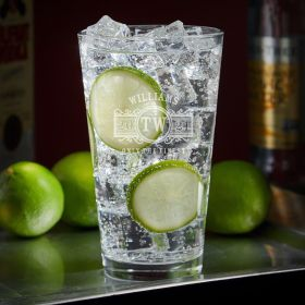 Marquee Custom Vodka Tonic Glass