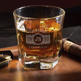 Marquee Single Colchester Custom Whiskey Glass