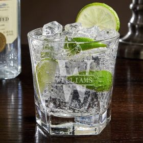 Oakmont Colchester Engraved Cocktail Glass