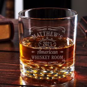 Tennessee Whiskey Personalized Buckman Whiskey Glass