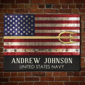 US Navy Protectors of Freedom Personalized Navy Sign