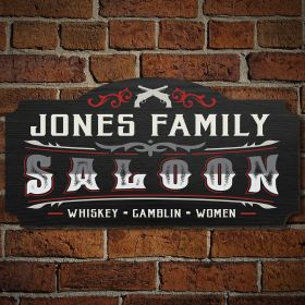 Old Town Saloon Custom Saloon Sign