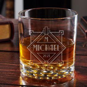 Speakeasy Personalized Whiskey Glass