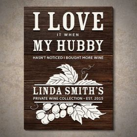 Wine Life Custom Wooden Wine Decor