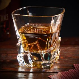 Stanford Personalized Iceburg Whiskey Glass