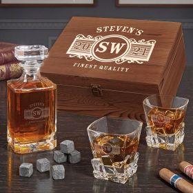 Marquee Custom Iceburg Bourbon Gift Set