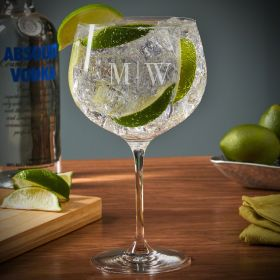Quinton Custom Balloon Gin and Tonic Glass