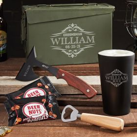 Unbreakable Engraved Wilshire 30 Cal Ammo Can Beer Gifts