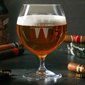 Oakmont Personalized Opus Craft Beer Glass