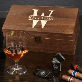 Oakmont Custom Cognac Glass Set