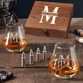 Oakmont DiMera Custom Bullet Whiskey Stones