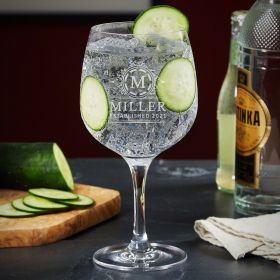 Hamilton Custom Gin and Tonic Glass