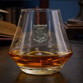Regal Crest Custom DiMera Whiskey Glass