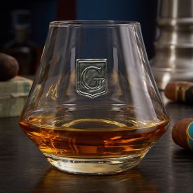 Regal Crest Custom DiMera Brandy Glass
