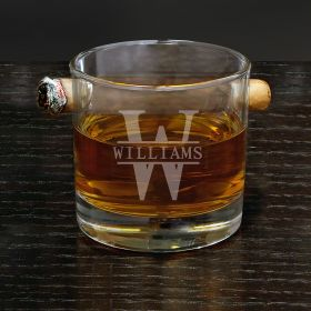 Oakmont Custom Round Cigar Glass
