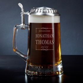 Monroe Personalized Beer Stein