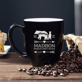 Mama Bear Personalized Coffee Mug Gift for Mom