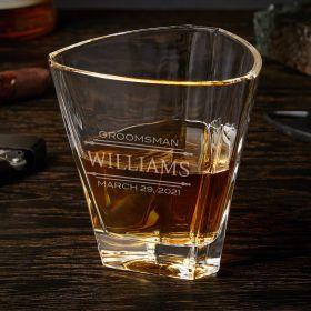 Stanford Euclid Custom Whiskey Glass