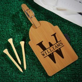 Oakmont Personalized Golf Bag Tag with Tees