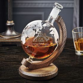 Police Globe Decanter Gift for Police Officer