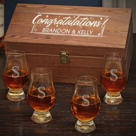 Time to Celebrate Personalized Whiskey Congratulations Gift for Men