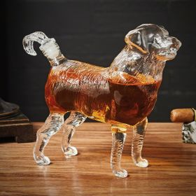 Dog Liquor Decanter