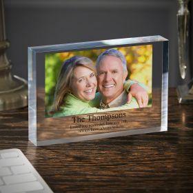 Anniversary Custom Acrylic Photo Block 6x8