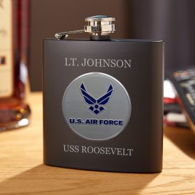 Air Force Custom Flask Gift for Air Force