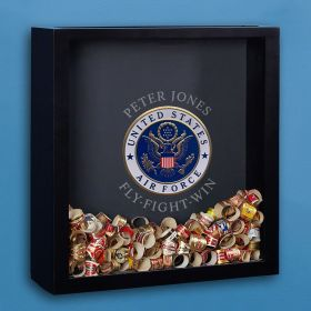 Air Force Personalized Shadow Box Air Force Gift