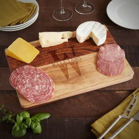 Oakmont Exotic Hardwood Personalized Charcuterie Board