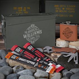 Maddux Custom 30 Cal Ammo Box Set of Cool Gifts for Men