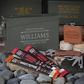 Stanford Engraved 30 Cal Ammo Can Gift Ideas for Men