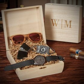 Quinton Customized Crate of Cool Groomsmen Gifts