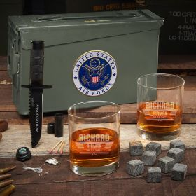 Maverick 30 Cal Ammo Can Personalized Air Force Gifts