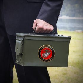 50 Cal Ammo Can Marine Corps Gifts
