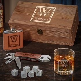 Oakhill Whiskey Box Set Personalized Gifts for Him