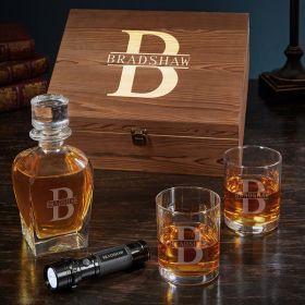 Oakmont Personalized Draper Whiskey Decanter Set
