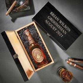 Baltic Birch Custom Wood Box for Liquor Bottle