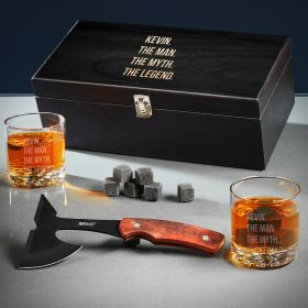 Man Myth Legend Engraved Gifts for Groomsmen
