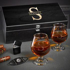 Oakmont Custom Cognac Glasses Set