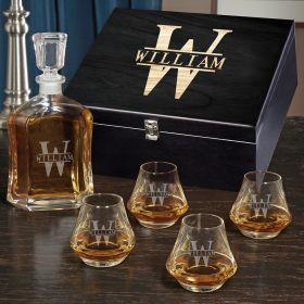 Oakmont Personalized Argos Bourbon Decanter Set
