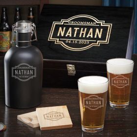 Fremont Personalized Beer Gifts Box Set