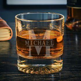 Oakmont Personalized Churchill Whiskey Glass