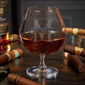 Oakmont Personalized Grand Cognac Glass