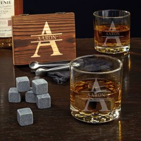 Oakmont Personalized Buckman Whiskey Gift Set