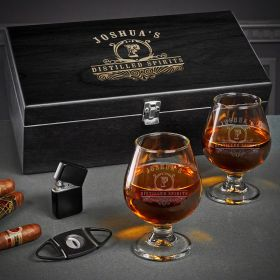 Carraway Engraved Cognac Gift Set
