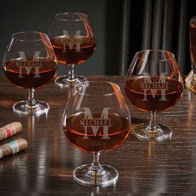 Oakmont Custom Grand Cognac Glasses Set of 4