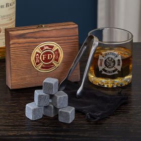 Fire and Rescue Custom Buckman Whiskey Firefighter Gifts