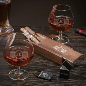 Marquee Custom Grand Cognac Cigar Gift Set